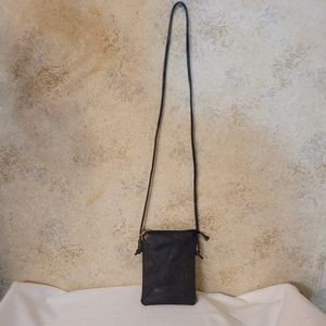 Little Brown and Copper Crossbody Bag